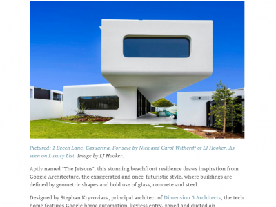 The Real Estate Conversation – Luxury List- 10 Most Captivating Architectural Designs